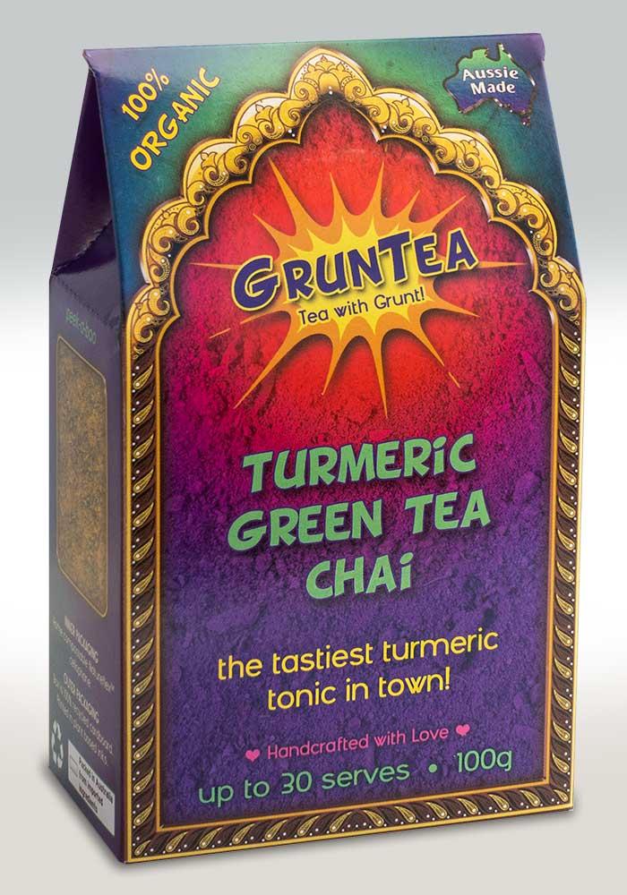 100g Box of Green Tea Chai